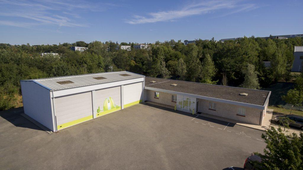 Reportage industriel – Photographies drone – société Labservice