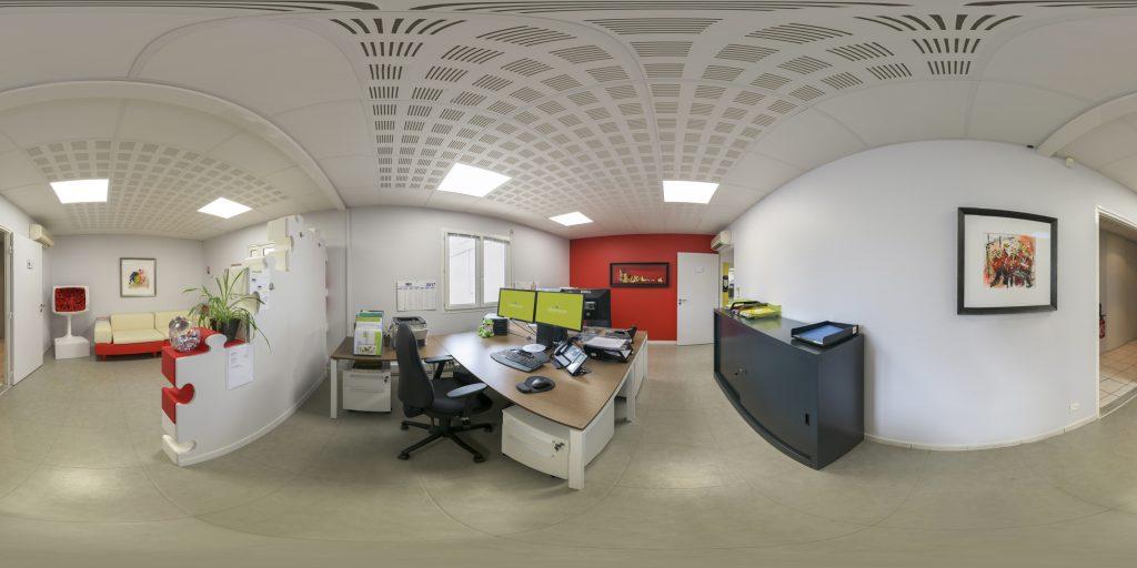 Visite virtuelle 16K – Photographie sphérique 360° – société Labservice